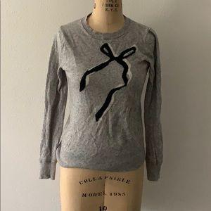 Grey fashion sweater